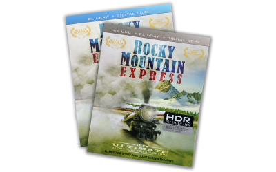 Rocky Mountain Express on Blu-ray 4K Ultra HD and Blu-ray Disc