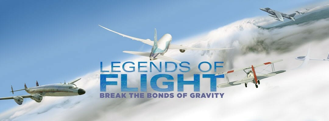 Where to See Legends of Flight  3D