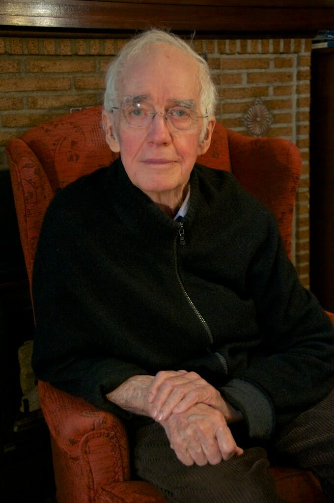 Colin Low, aged 88