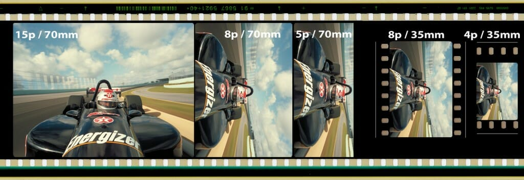 motion picture frame comparison