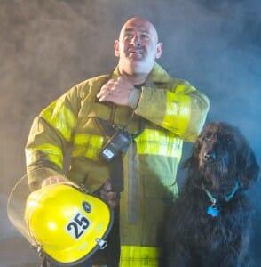 Steve Heicklen, volunteer fire fighter and rescue coordinator