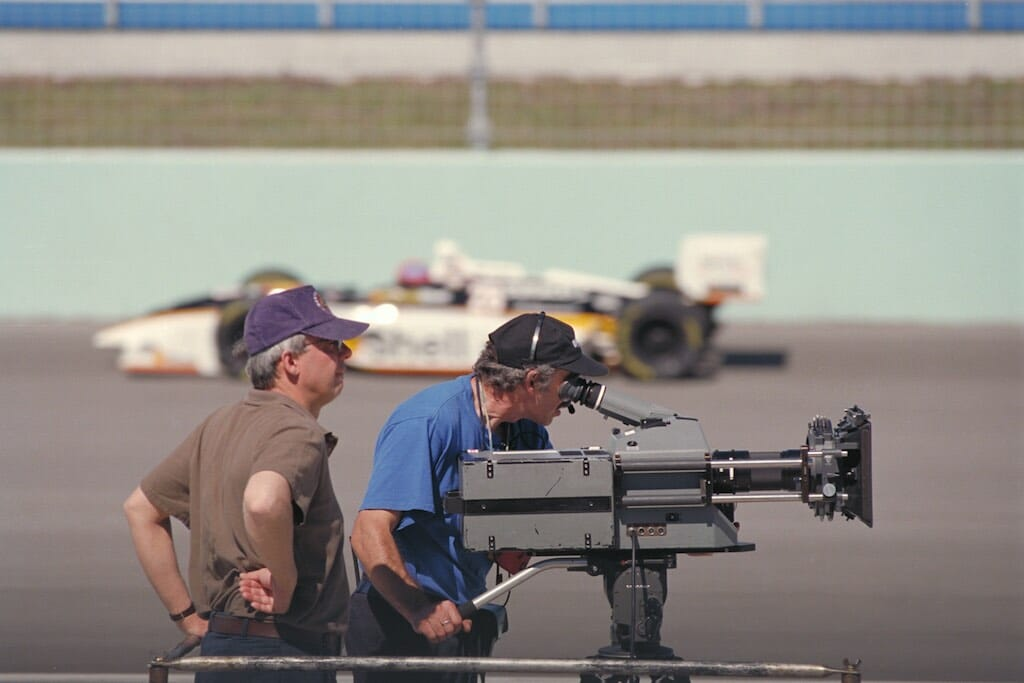 Filming Super Speedway, An IMAX Experience