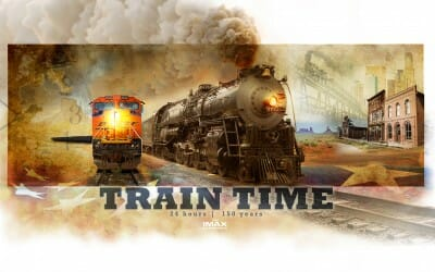 Epic Rail Experience Train Time Starts Production