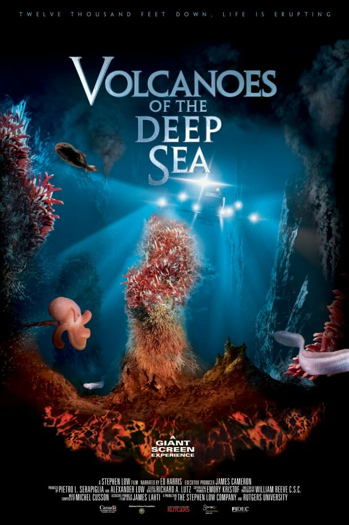 Volcanoes of the Deep Sea - poster