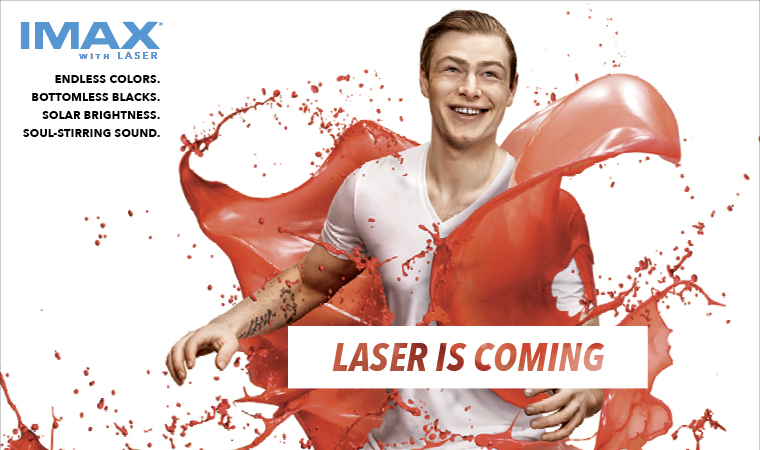 """Laser is Coming"" - IMAX with Laser"