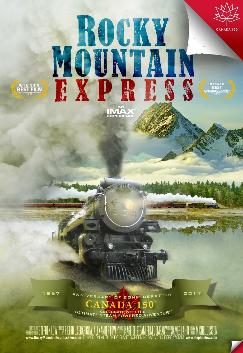 Preview Rocky Mountain Express - Canada 150 key art vertical