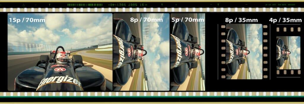 motion picture frame comparison