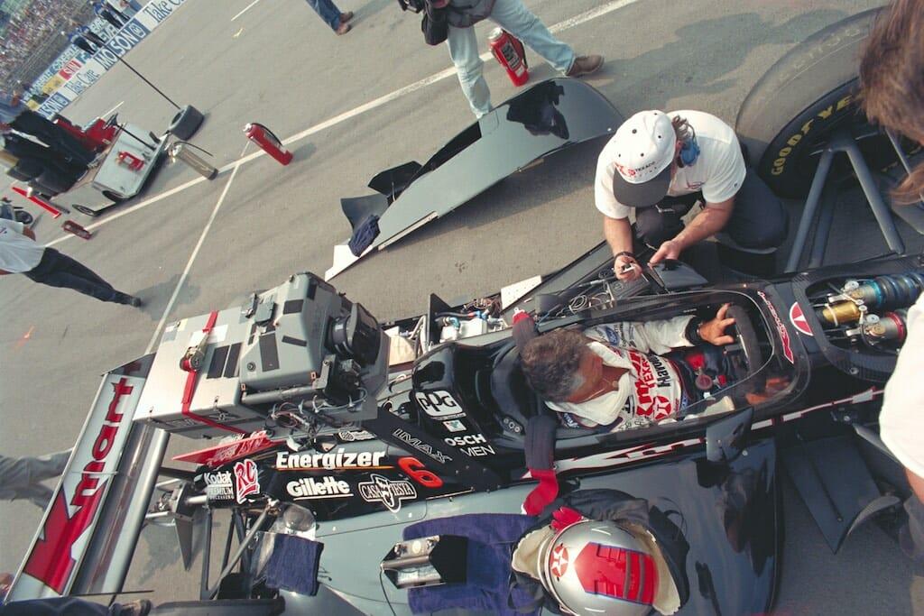 Filming Super Speedway